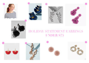 Holiday Earrings Under $75
