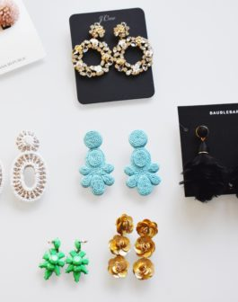 Holiday Statement Earrings Roundup