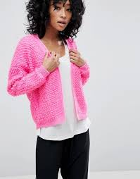 ASOS Cardigan with Bobble Stitch