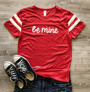 ETSY Be Mine T-Shirt (ForestSt.Clothing)