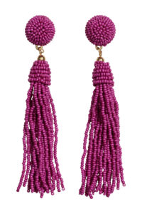 H&M Earrings with Glass Beads