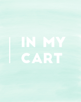 Weekend Sales/ In My Cart Logo 2